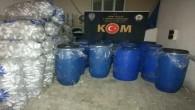 Hatay'da Sahte Dezenfektan Operasyonu