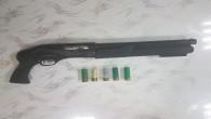 İskenderun'da havaya Pompalı tüfekle ateş açan şahsın silahı alındı