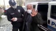 Polis 65 yaş ve üstü vatandaşları evine götürdü