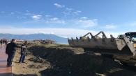 Turizm ilçesi Samandağ'ında sahil düzenlemesi