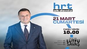Başkan Savaş HRT Akdeniz TV'de Gazetecilerle Gündemi değerlendirecek