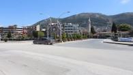 Sokağa Çıkma Yasağının Ardından Antakya Hayalet Şehre Dönüştü, Cadde ve Sokaklar Bomboş Kaldı