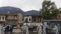Antakya Belediyesi Şehir Genelinde Bulunan Tüm Ana Caddeleri Yıkayarak Dezenfekte Ediyor