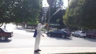 Hatay Büyükşehir Belediyesi'nde yeşil alanlarda ilaçlama çalışması