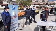 Antakya Belediyesi Pazarlarda Koronavirüs İle Mücadelede Tedbirleri Arttırdı