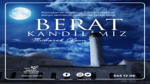 İslam alemi için en hayırlı gecelerden biri olan Berat Kandili'ni idrak ediyor olmanın mutluluğunu ve huzurunu yaşıyoruz