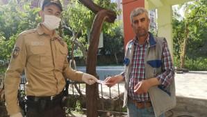 627 kişiye Sosyal Yardım Dağıtımını Polis ve Bekçiler gerçekleştirdi
