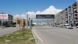 Sokağa Çıkma Kısıtlaması'nın Son Gününde İskenderun Sokakları