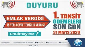 Antakya Belediyesi'den Emlak Vergisi Hatırlatması: son Ödeme 31 Mayıs