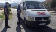 Hatay Büyükşehir belediyesinden toplu taşıma araçlarında Maske denetimi
