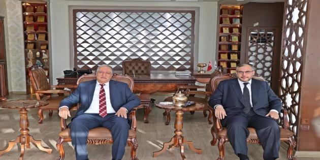 HESOB Başkanı Teksöz'den  Beyza Piliz Yönetim Kurulu Başkanı Çalışkan'a ziyaret