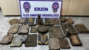 Suriyeli Tarihi Eser Kaçakçıları Erzin Polisine Takıldı