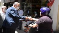 Başkan Yılmaz, Maske Kullanılmasına özen gösterilmesi için vatandaşlara hatırlatmada bulundu
