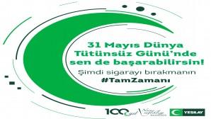 """Yeşilay Başkanı Prof. Dr. Mücahit Öztürk'ten Dünya Tütünsüz Günü çağrısı: """"Kontrollü sosyal hayata geçişin başladığı bu dönemde de tütün ürünlerinden uzak kalmalıyız"""""""