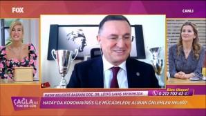 BAŞKAN SAVAŞ FOX TV'NİN CANLI YAYIN KONUĞU OLDU