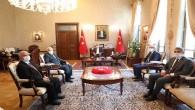 Vali Doğan'a Emniyet Genel Müdürlüğü Müfettişlerinden  Ziyaret
