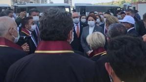İYİ Parti Genel Başkanı Meral Akşener'den baro başkanlarına destek ziyareti