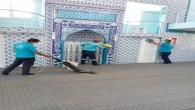 Antakya Belediyesi, ibadethanelerde temizlik çalışmalarını sürdürüyor