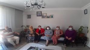 Antakya Belediye Başkan Yardımcısı Alev Seçmen; Aziz şehitlerimizin ardından Ailelerini yalnız bırakmıyoruz