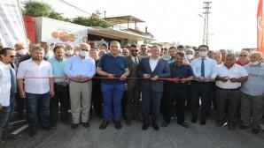 Yapımı Tamamlanan Büyükburç Mahallesi ile Kurtmezrası Mahallesi Arasındaki Yol Hizmete Açıldı
