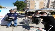 Antakya Belediyesi Pazarlarda maske dağıttı