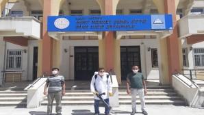 Antakya Belediyesi LGS sınavı yapılacak tüm okulları dezenfekte etti