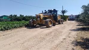 Antakya Belediyesinden yol çalışmalarına devam