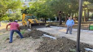Antakya Belediyesi ağaç budama ve parklarda bakım çalışmalarını sürdürüyor