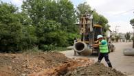 Antakya Bohşin'deki eski atık su hatları yenilendi