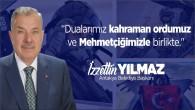 Antakya Belediye Başkanı İzzetin Yılmaz'dan pençe kartal harekatına destek