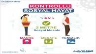 Antakya Belediyesinden Sosyal Mesafe ve Maske Kullanımı konusunda uyarı
