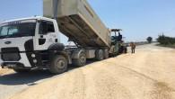 Hatay Büyükşehir Belediyesi, Atatürk çiftlik yolunda asfalt hazırlıklarına başladı