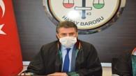 Hatay Baro Başkanı Ekrem Dönmez: Kamuoyu Avukatlık Kanunu değişikliği ile meşgul ediliyor