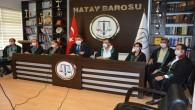 Hatay Baro Başkanı Av. Ekrem Dönmez: Eylemlik sürecine geçilmesini karar verildi