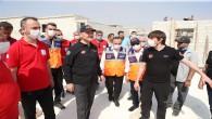 İçişleri Bakanı Soylu, İdlib'de İncelemelerde Bulundu