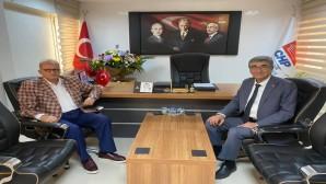Mehmet Ali Kuseyri'den Başkan Hasan Ramiz Parlar'a ziyaret