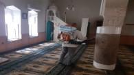Antakya Belediyesi'nden Camilerde dezenfekte çalışmalarına devam