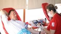 Hatay Büyükşehir Belediyesi ve Türk Kızılay'ı iş birliğiyle kan bağışı kampanyası başlatıldı.