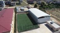 Hatay Büyükşehir Belediyesinden Reyhanlı Aalen Dostluk Anadolu Lisesine basketbol sahası