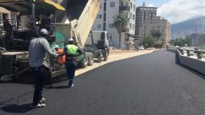 Yol yapımı, bakımı ve onarımı çalışmalarına devam