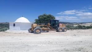 Hatay Büyükşehir Belediyesi stabilize yol çalışmaları gerçekleştirdi