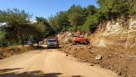 Hatay Büyükşehir Belediyesinden Batıayazında  yol genişletme çalışmaları