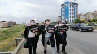 Hatay Baro Başkanı Av. Ekrem Dönmez Yürüyüş eylemine başladı