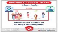 Hatay Valiliği korona virüse karşı alınacak  önlemlerde  uyarılarını sürdürüyor