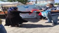Antakya Belediyesinden  Maske dağıtımına devam