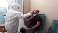 Spor Muhabirlerine Corona virüs testi
