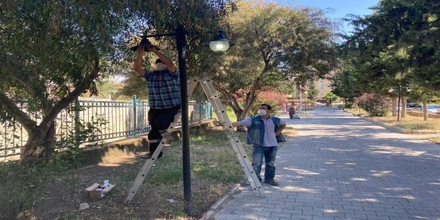 Parklarda Güzelleştirme çalışmaları