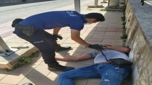 Polis'ten vatandaşa destek