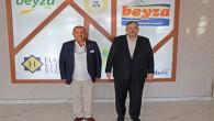 Reyhanlı Ticaret Odası Başkanı Zaroğlu'ndan Necmettin Çalışkan'a ziyaret