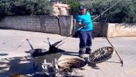HAT SU'dan atık su bacalarında temizlik